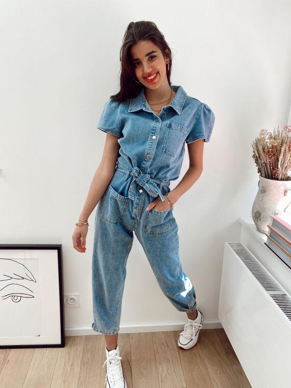 Combinaison à poches REGARD jeans