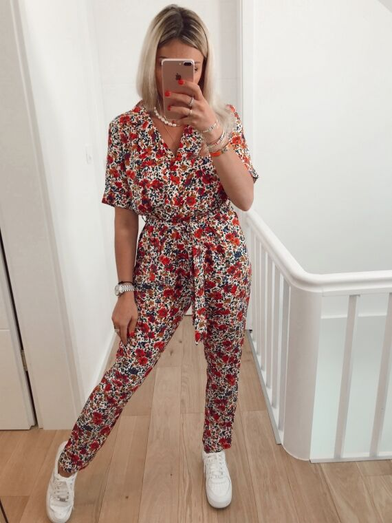 Floral jumpsuit WANDA