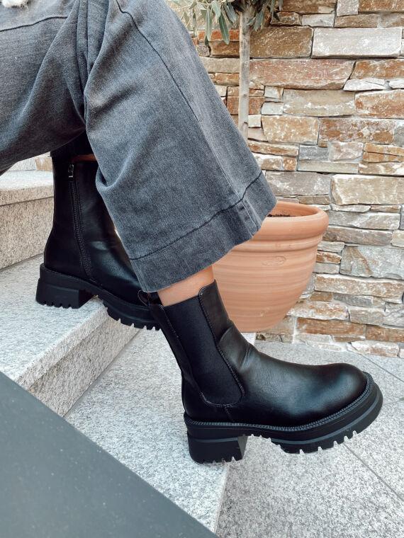 Boots track à semelle crantée IZABELLE