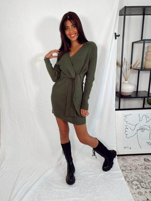 Dress MILKY khaki