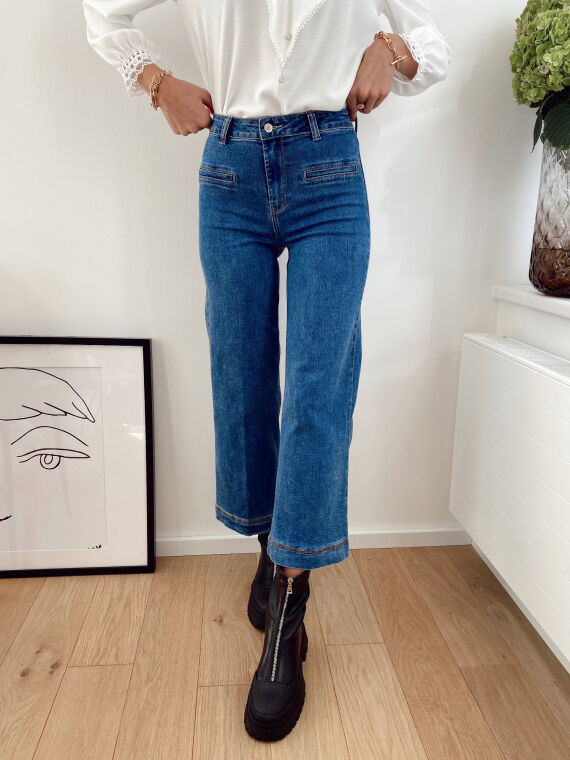 Flared jeans VALENTINE in blue