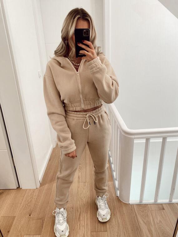 Jogging suit ALRIGHT in beige