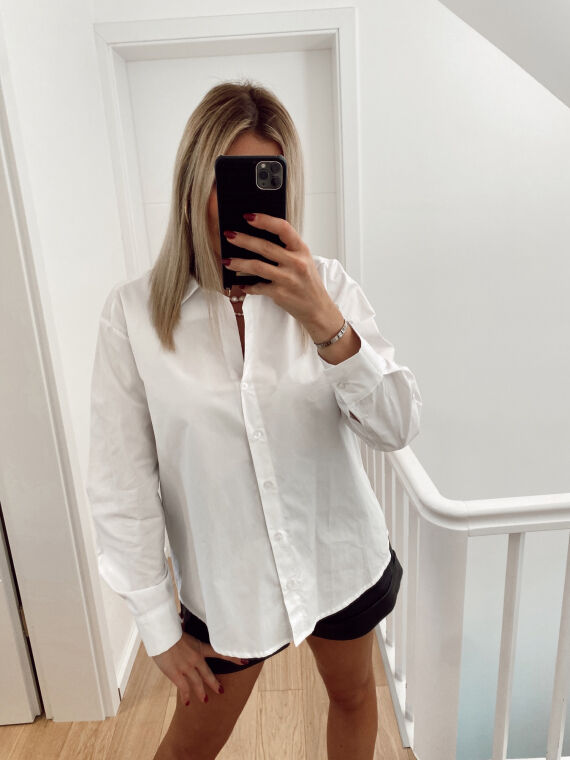 Basic shirt PEJO in white